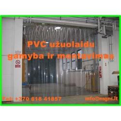 Rifliuota PVC juosta standartinė 300 mm