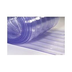 Rifliuota PVC juosta 300 mm
